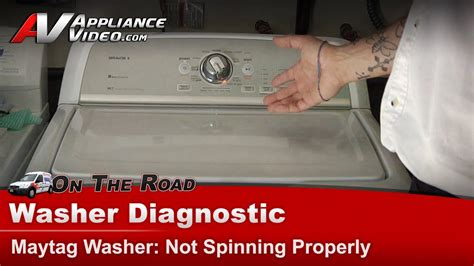 Washer not spinning or draining - Maytag, Whirlpool,Roper