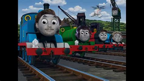 I'll Photoshop It! One Direction As Thomas The Tank Engine