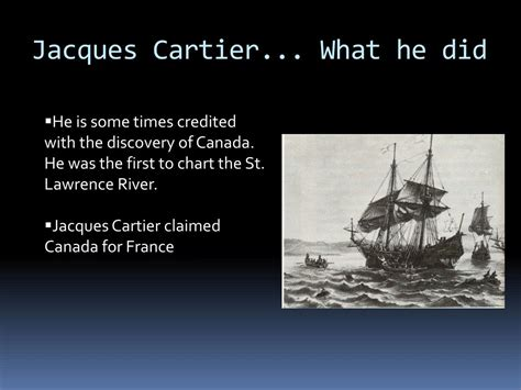 PPT - Jacques Cartier PowerPoint Presentation, free