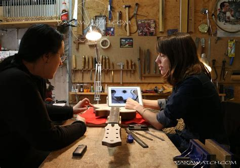 Christelle Caillot, luthier - MA PLUME - WEBMAG