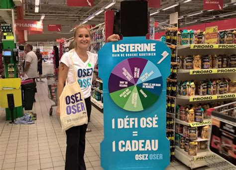 Animation commerciale Listerine - Marketing in store
