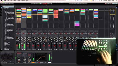 How you can perform live using Ableton Live and a APC40