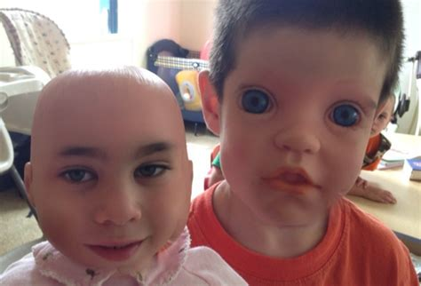 Children-Doll Face Swaps Will Scare/Delight You (PHOTOS)