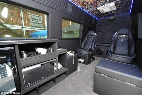 One Direction – Inside their tour bus   Philip Berners