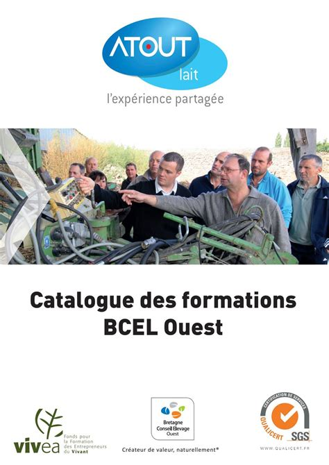 Catalogue des formations BCEL Ouest by BCEL Ouest - Issuu