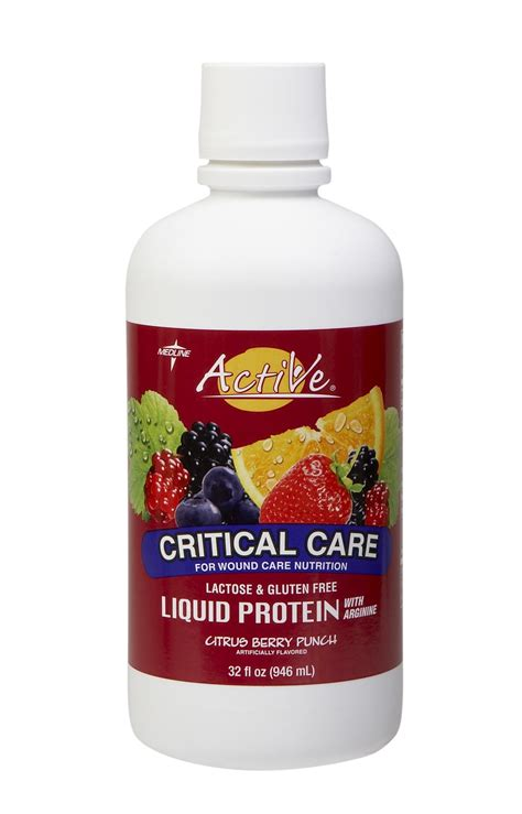 Active Critical Care Liquid Protein Nutritional Supplement