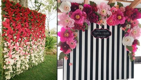 Here Are 15 Stunning Floral Backdrops That Can Make Your