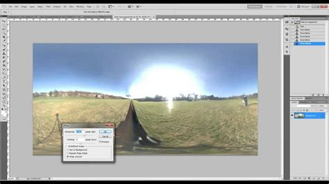 Creating A HDRi For Use In A 3D Package - Photoshop