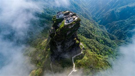 The Temples of Mount Fanjing | Amusing Planet