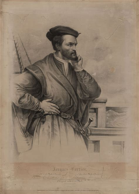 Jacques Cartier's Voyages to Canada – A Stamp A Day