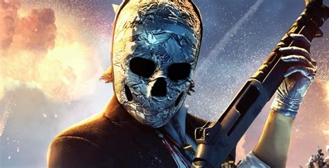 Payday 2's Hardcore Crossover Brings In Sharlto Copley's