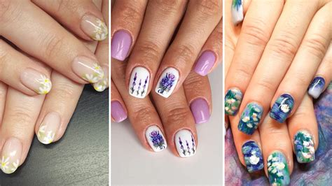 21 Floral Nail Art Designs That Are Perfect For The Summer