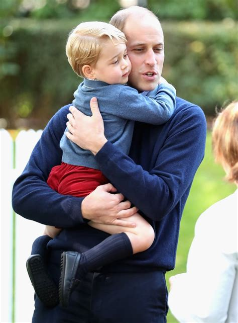 Cute Prince George and Prince William Pictures   POPSUGAR