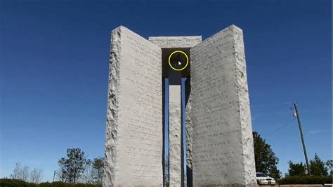 The Georgia Guidestones: Mysterious Time Capsule, Blood On