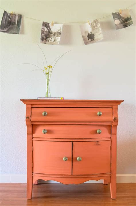1000+ images about Orange Painted Furniture on Pinterest