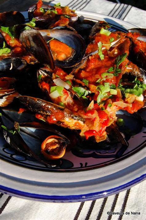 Moules sauce tomate piquante